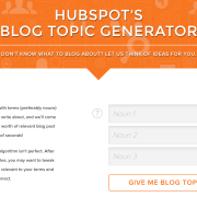 hubspot topic generator